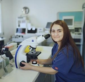 Georgia Hanonik- Medical Laboratory Technologist